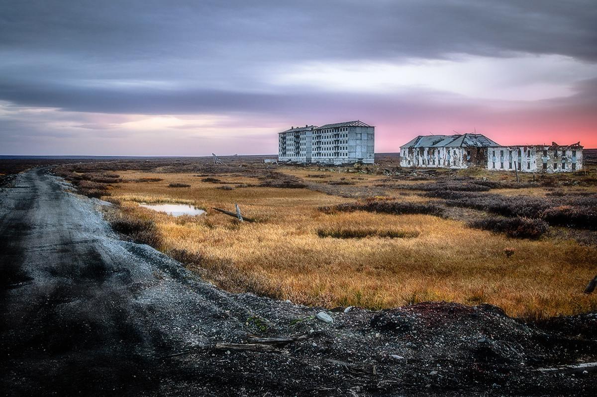 Фото воркутинских поселков